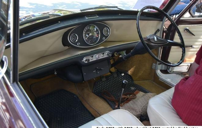 MK2 Morris Cooper S interior dashboard with heater Australia.jpg