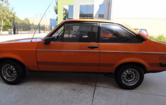 MK2 RS2000 Ford Escort Coupe 1980 Australia Orange unrestored (10).JPG