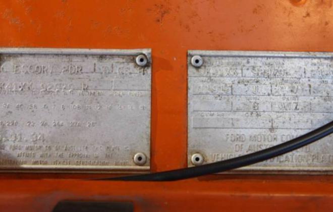 MK2 RS2000 Ford Escort Coupe 1980 Australia Orange unrestored (9).JPG