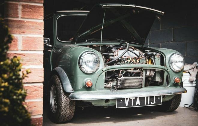 MK3 Mini Cooper S 1971 Almond Green images UK 2021 (7).jpg