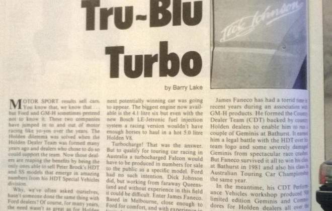 Magazine article Ford XE Grand Prix Turbo Dick Johnson (2).jpg