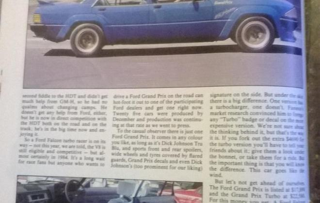 Magazine article Ford XE Grand Prix Turbo Dick Johnson (3).jpg