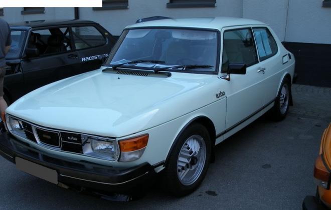 Marble White Saab 99 Turbo 1.jpg