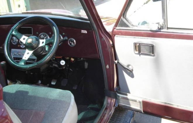 Maroon 1977 Leyland Mini LS 998 converted to 1275 (6).JPG