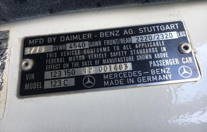 Mercedes 300CD VIN plate.jpg