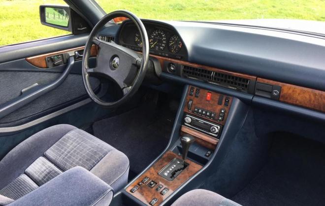 Mercedes 560SEC LHD with cloth trim german spec (13).jpg