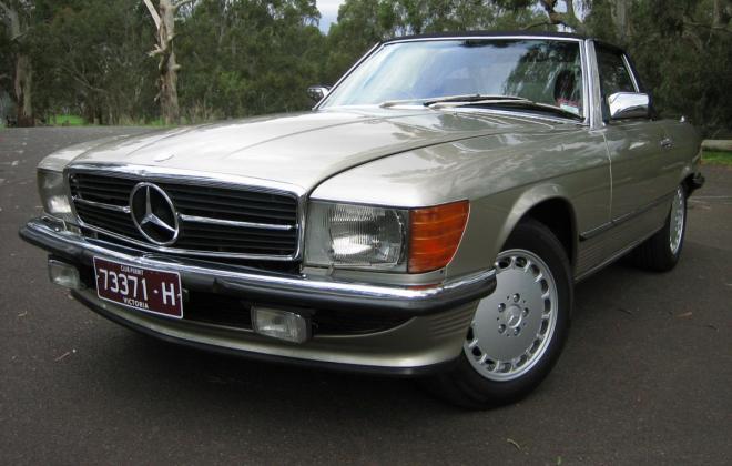 Mercedes 560SL Front grille.jpg
