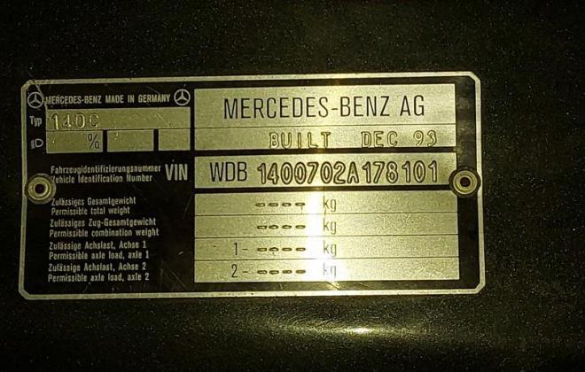 Mercedes Blue-black S500 coupe C140 W140 coupe (10).jpg