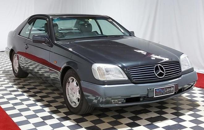 Mercedes Blue-black S500 coupe C140 W140 coupe (22).jpg