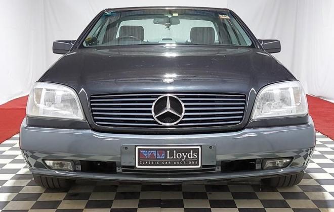 Mercedes Blue-black S500 coupe C140 W140 coupe (3).jpg