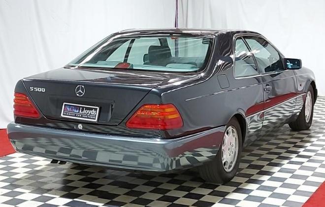 Mercedes Blue-black S500 coupe C140 W140 coupe (9).jpg
