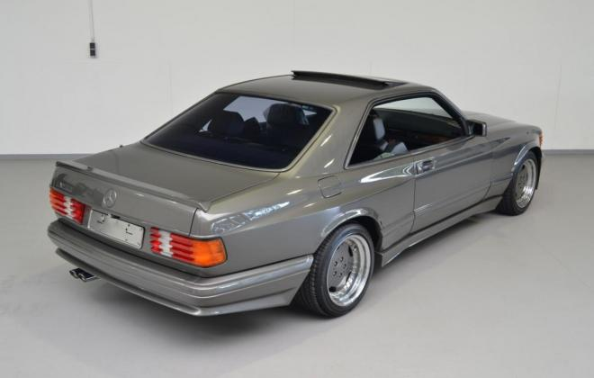 Mercedes C126 560SEC AMG Wide-body grey images exterior (11).JPG