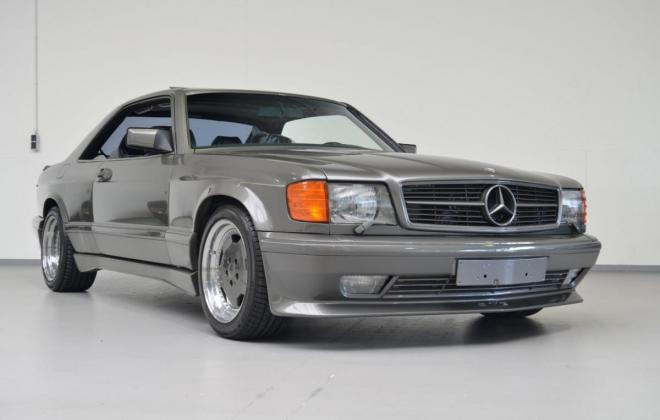 Mercedes C126 560SEC AMG Wide-body grey images exterior (13).JPG