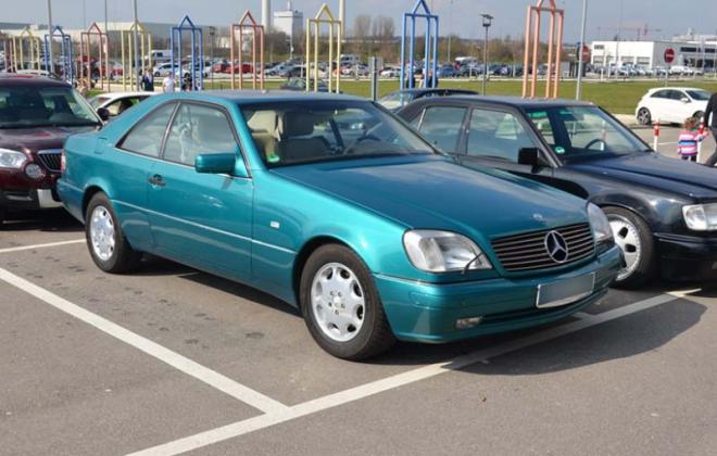 Mercedes C140 140 coupe Calypso Green paint code 279.jpg