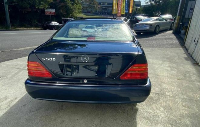 Mercedes C140 S500 coupe Midnight Blue with cream leather Australian delivered (7).jpg