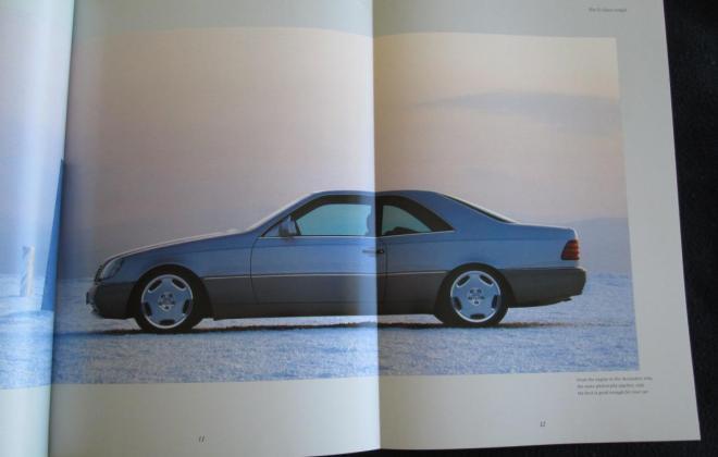 Mercedes W140 Coupe S600 brochure original (11).JPG