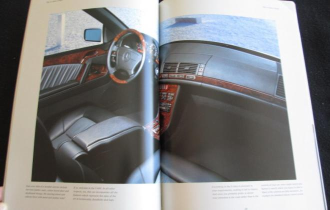 Mercedes W140 Coupe S600 brochure original (13).JPG