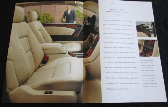 Mercedes W140 Coupe S600 brochure original (4).JPG