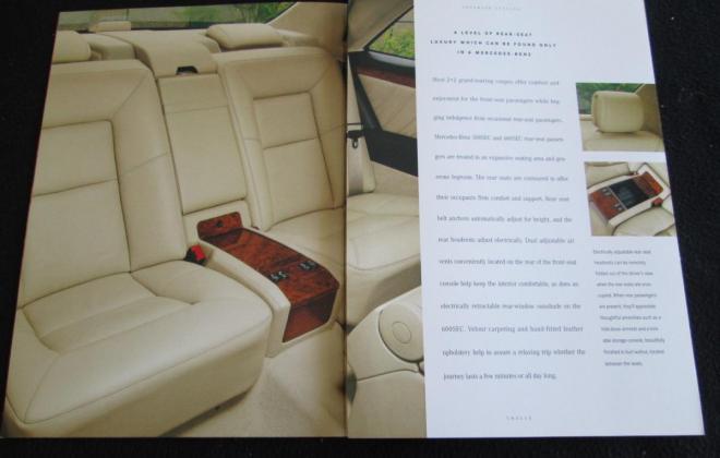 Mercedes W140 Coupe S600 brochure original (5).JPG