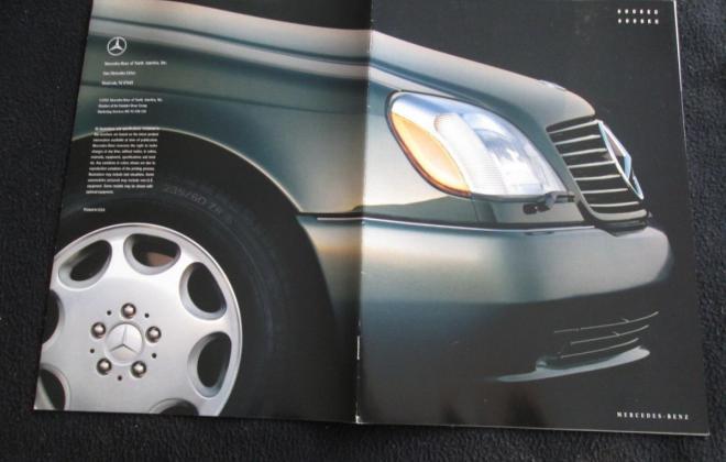 Mercedes W140 Coupe S600 brochure original (6).JPG