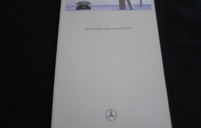 Mercedes W140 Coupe S600 brochure original (7).JPG