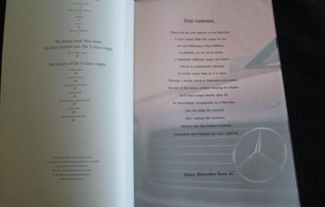Mercedes W140 Coupe S600 brochure original (9).JPG