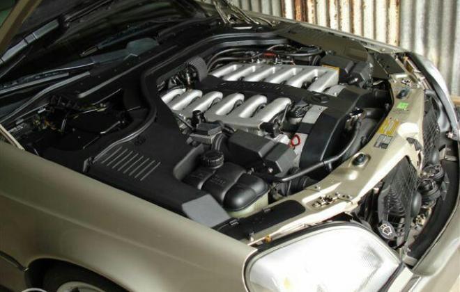 Mercedes W140 S600 coupe Australia Smoke Silver (10).jpg
