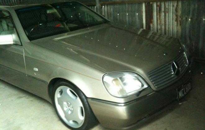 Mercedes W140 S600 coupe Australia Smoke Silver (3).jpg