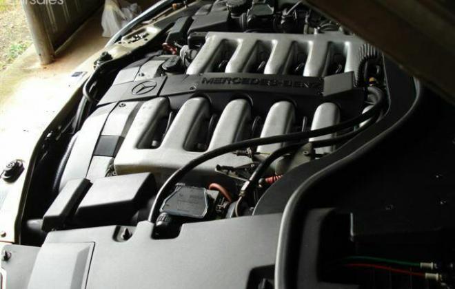 Mercedes W140 S600 coupe Australia Smoke Silver (6).jpg