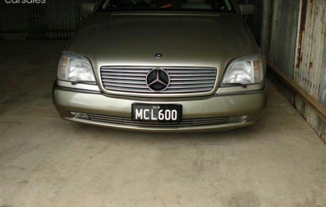 Mercedes W140 S600 coupe Australia Smoke Silver (8).jpg