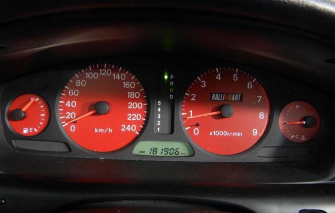 Mitsubishi Magna Ralliart red instrument cluster.jpg