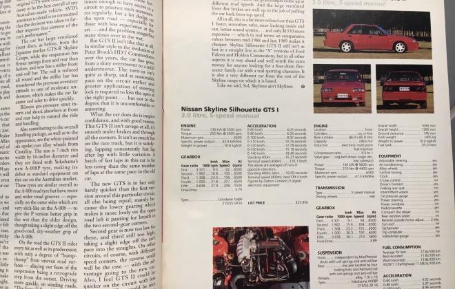 Modern Motor Magazine Issue 16, 1989, Nissan SVD Silhouette GTS2 article (2).jpg