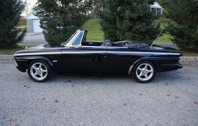 Modified 1964 Studebaker Daytona convertible Black chevy engine conversion (15).jpg