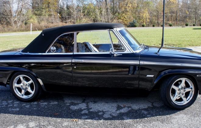 Modified 1964 Studebaker Daytona convertible Black chevy engine conversion (17).jpeg
