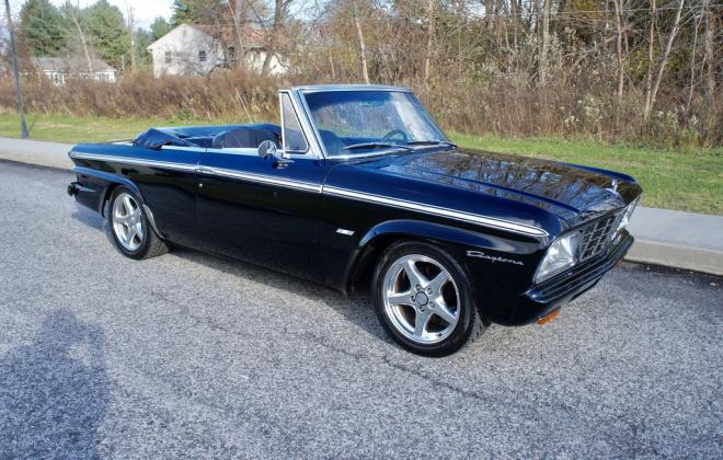 Modified 1964 Studebaker Daytona convertible Black chevy engine conversion (2).jpeg