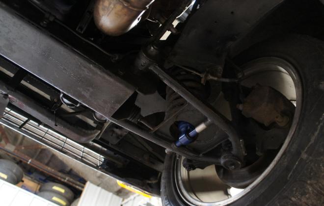 Modified 1964 Studebaker Daytona convertible Black chevy engine conversion (2).jpg