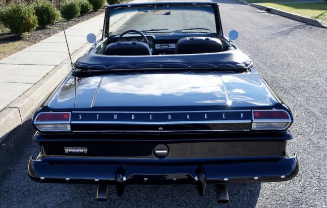 Modified 1964 Studebaker Daytona convertible Black chevy engine conversion (3).jpeg