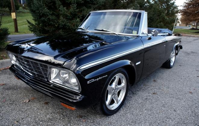 Modified 1964 Studebaker Daytona convertible Black chevy engine conversion (5).jpeg
