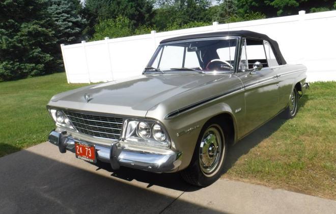 Moonlight Silver 1964 Studebaker Daytona convertible last built (11).jpg