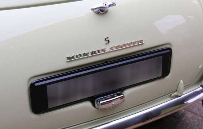 Morris Cooper S MK1 rear trunk badge.jpg