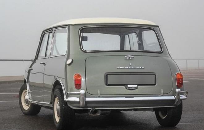 Morris Mini 970cc Cooper S rear image MK1 1964.jpg