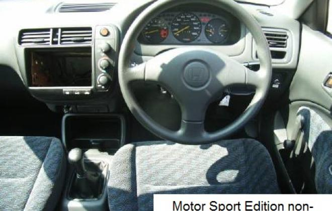 Motor Sport Edition lightweight civic EK9 Type R 2 interior 2.jpg