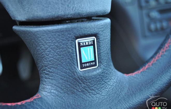 Nardi front steering wheel badge RX-7 Spirit R Type A.JPG