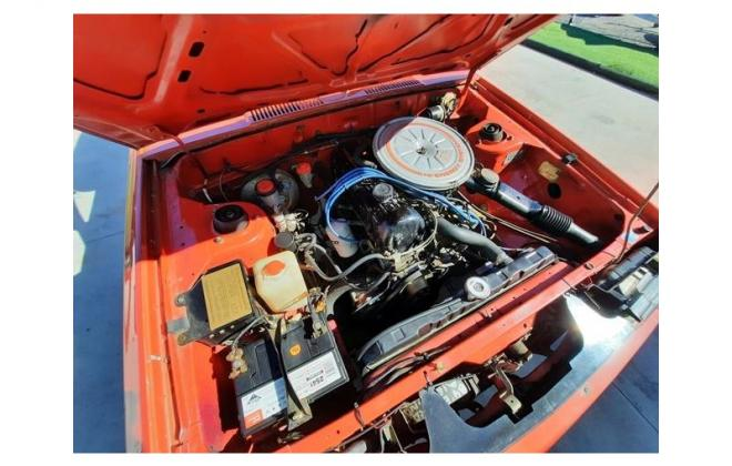 Nissan P910 TR-X TRX 1984 sedan red images engine  (25).jpg
