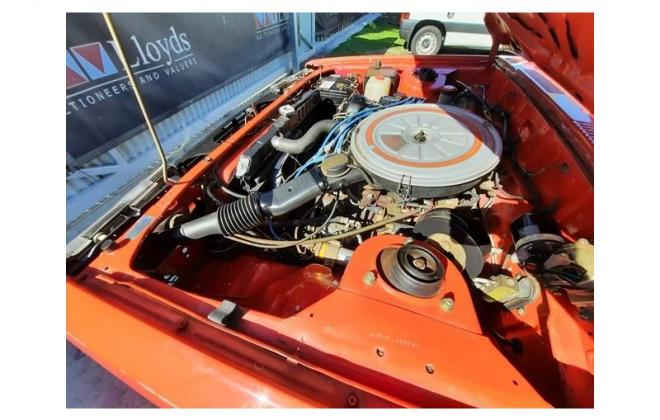 Nissan P910 TR-X TRX 1984 sedan red images engine  (26).jpg