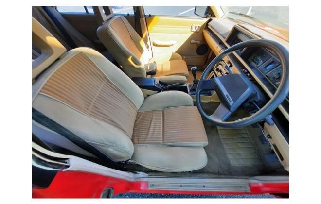 Nissan P910 TR-X TRX 1984 sedan red images interior (5).jpg