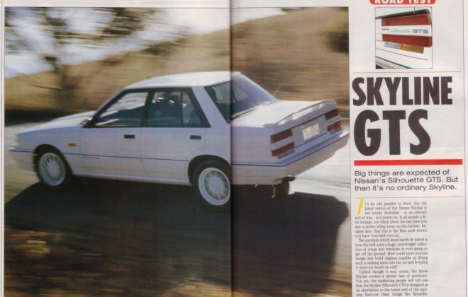 Nissan Skyline GTS1 Silhouette R31 SVD magazine article (1).jpg