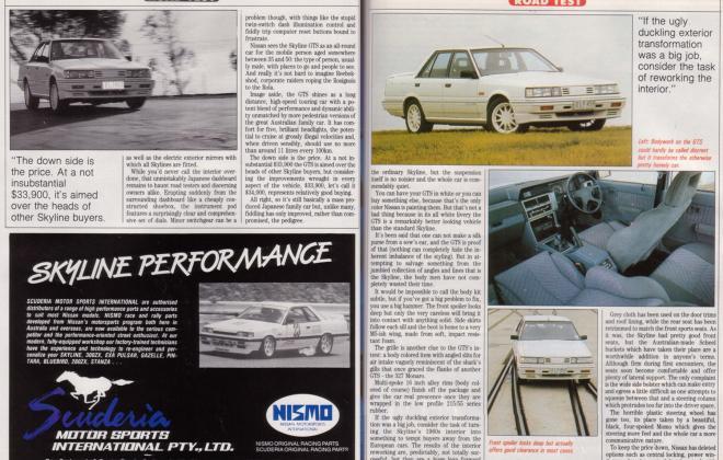 Nissan Skyline GTS1 Silhouette R31 SVD magazine article (3).jpg