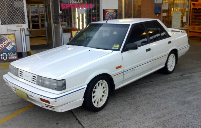 Nissan Skyline R31 GTS1 SVD Silhouette Australia 1988 Classic White image (2).png