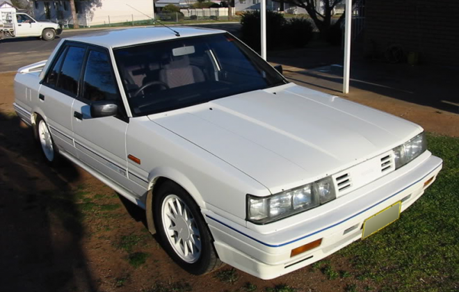 Nissan Skyline R31 GTS1 SVD Silhouette Australia 1988 Classic White image (5).png